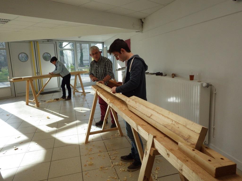 Stage construction bois